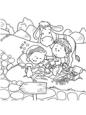 Bible Coloring Pages Icharacter Media